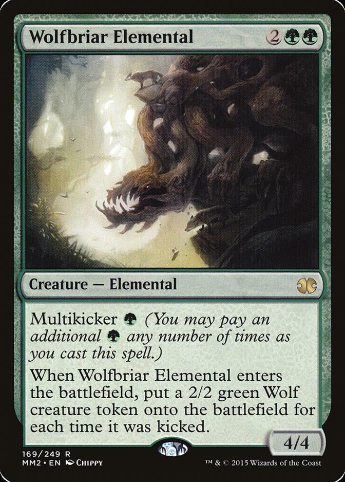 Wolfbriar Elemental [MM2]