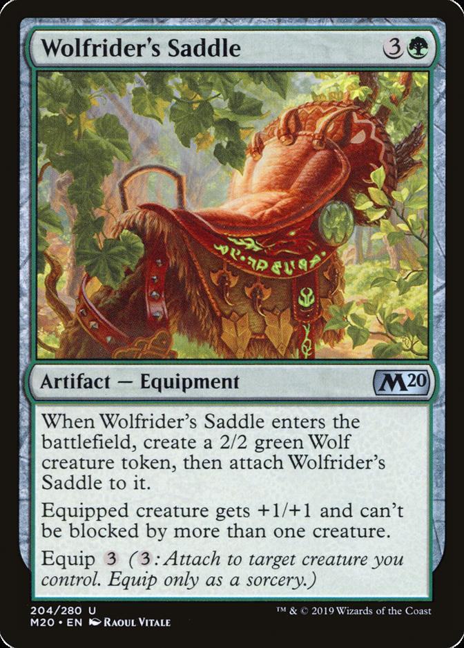 Wolfrider's Saddle [M20]