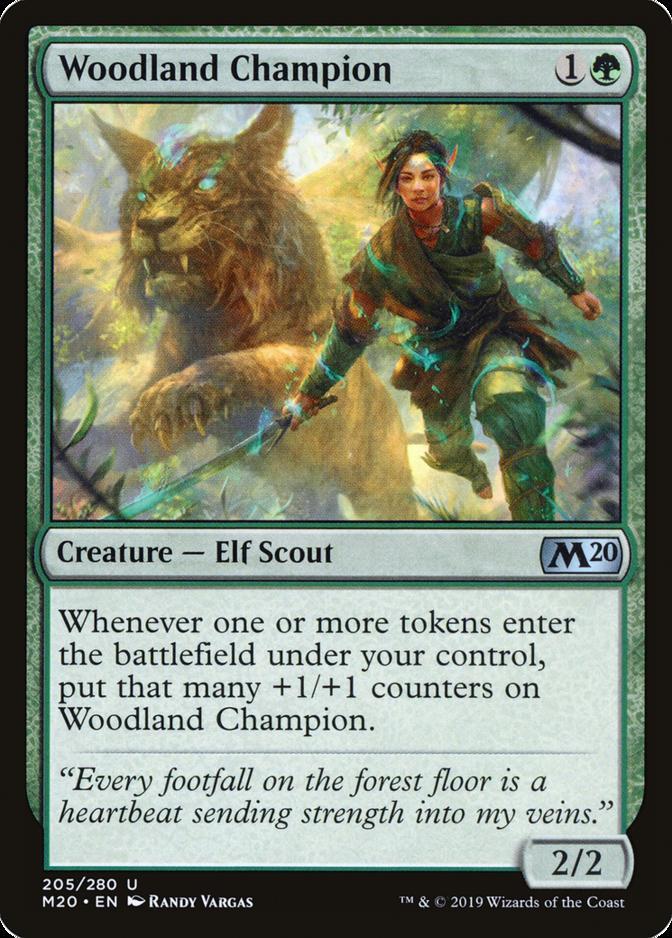 Woodland Champion [M20]