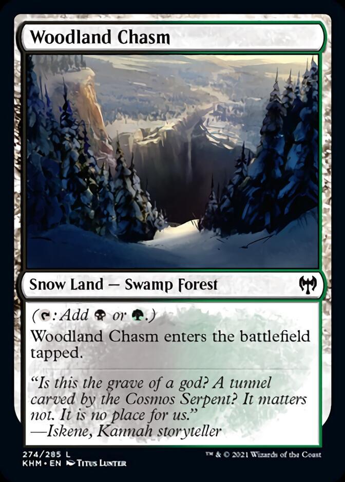 Woodland Chasm [KHM]