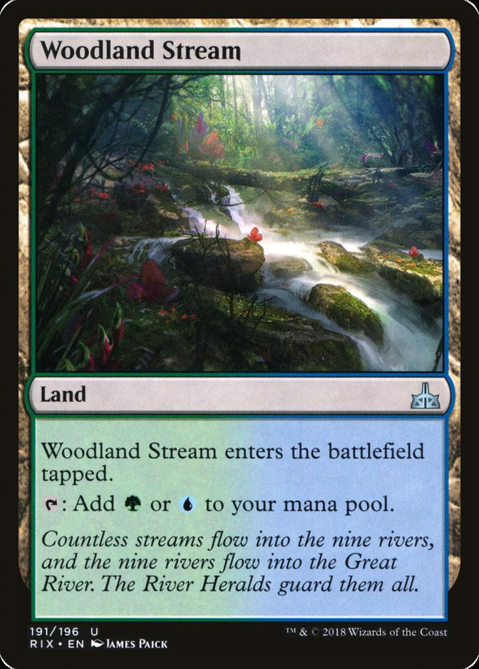 Woodland Stream [RIX] (F)