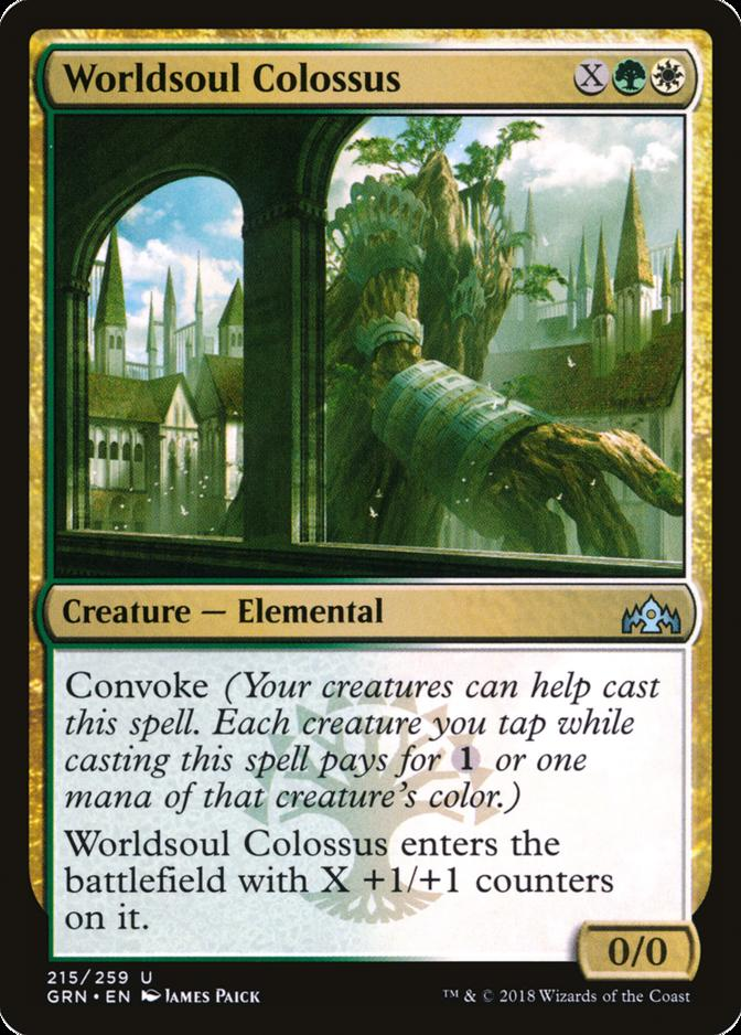 Worldsoul Colossus [GRN]