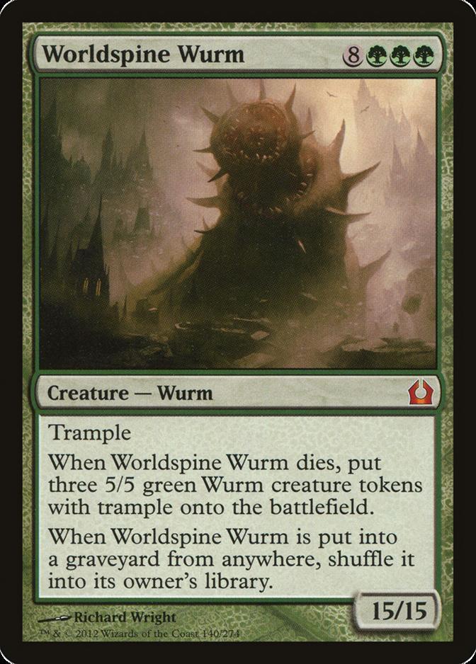 Worldspine Wurm [RTR]
