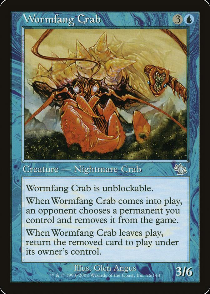 Wormfang Crab [JUD]