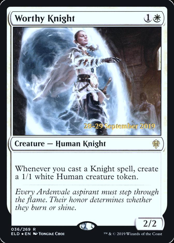 Worthy Knight [PRM-PRE] (F)