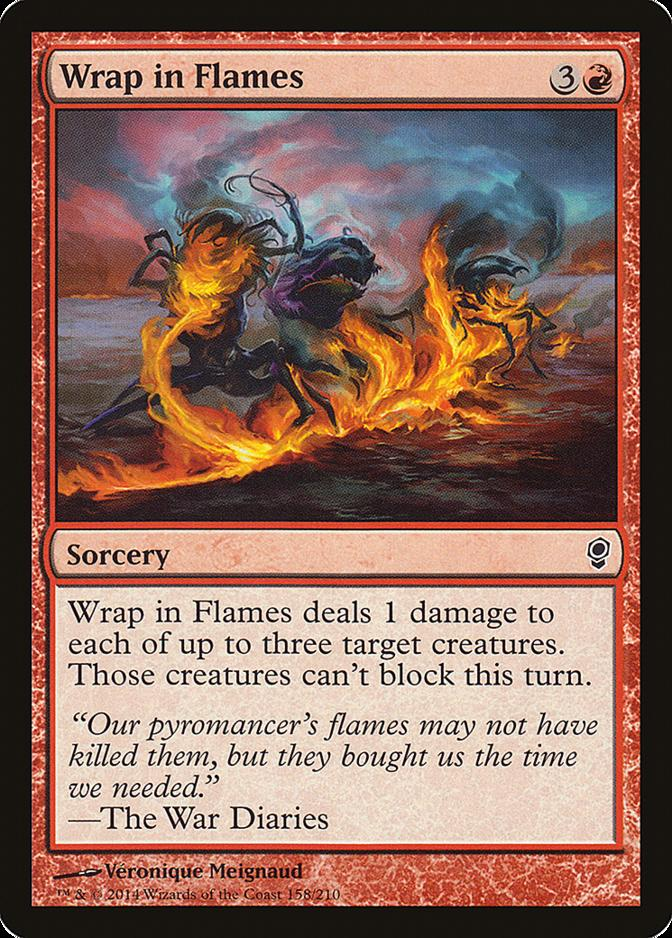 Wrap in Flames [CNS] (F)