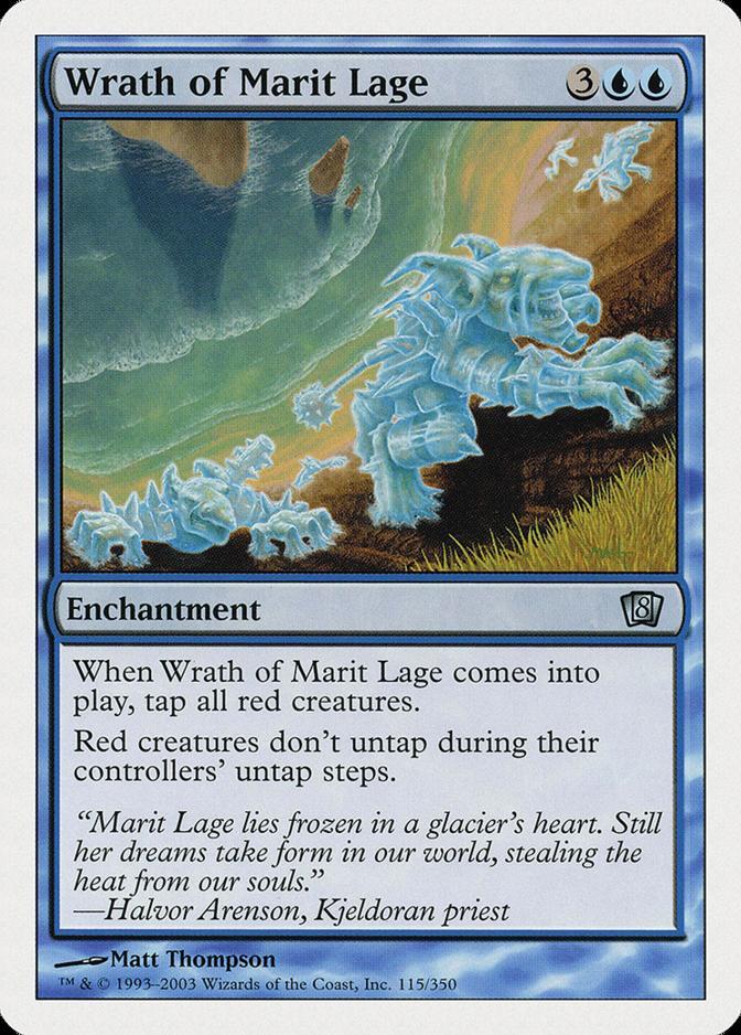 Wrath of Marit Lage [8ED]