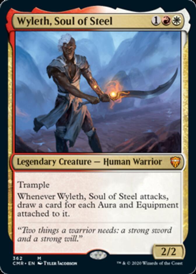 Wyleth, Soul of Steel <precon> [CMR] (F)