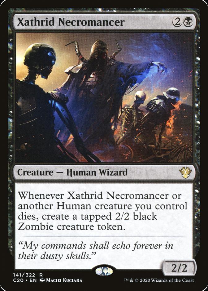 Xathrid Necromancer [C20]