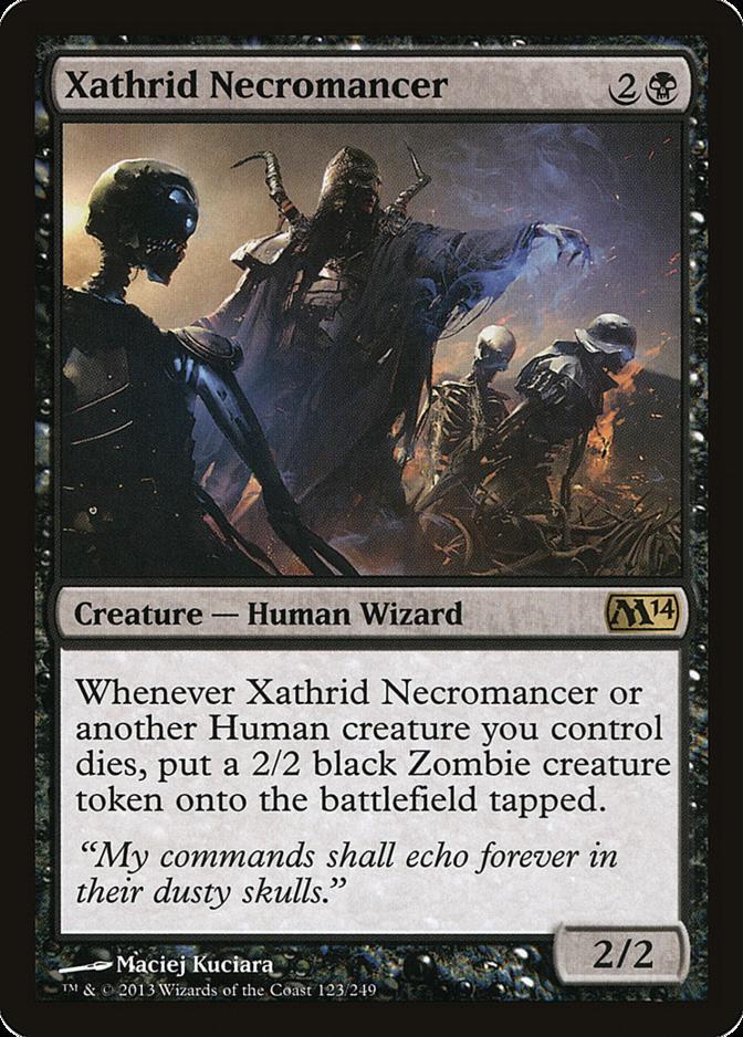 Xathrid Necromancer [M14] (F)