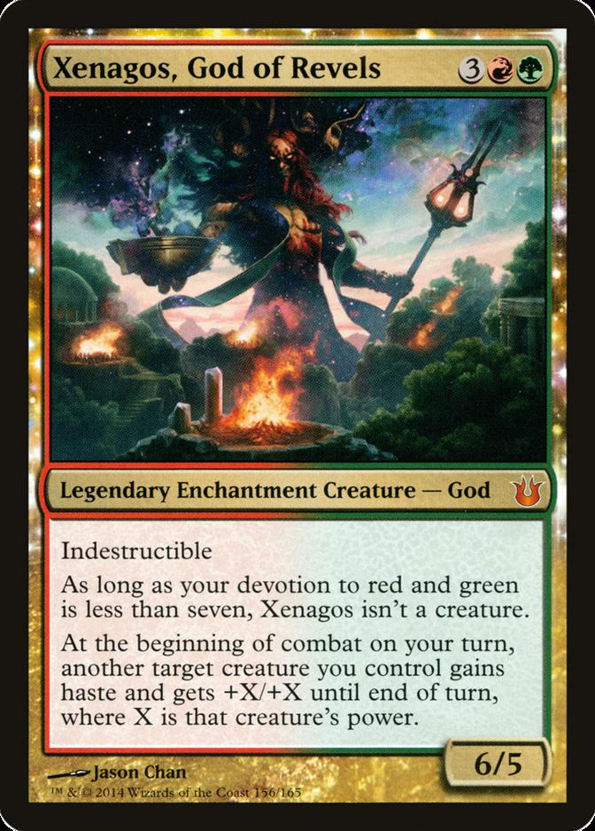 Xenagos, God of Revels [BNG] (F)
