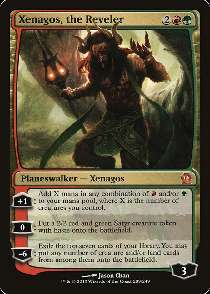 Xenagos, the Reveler [THS]
