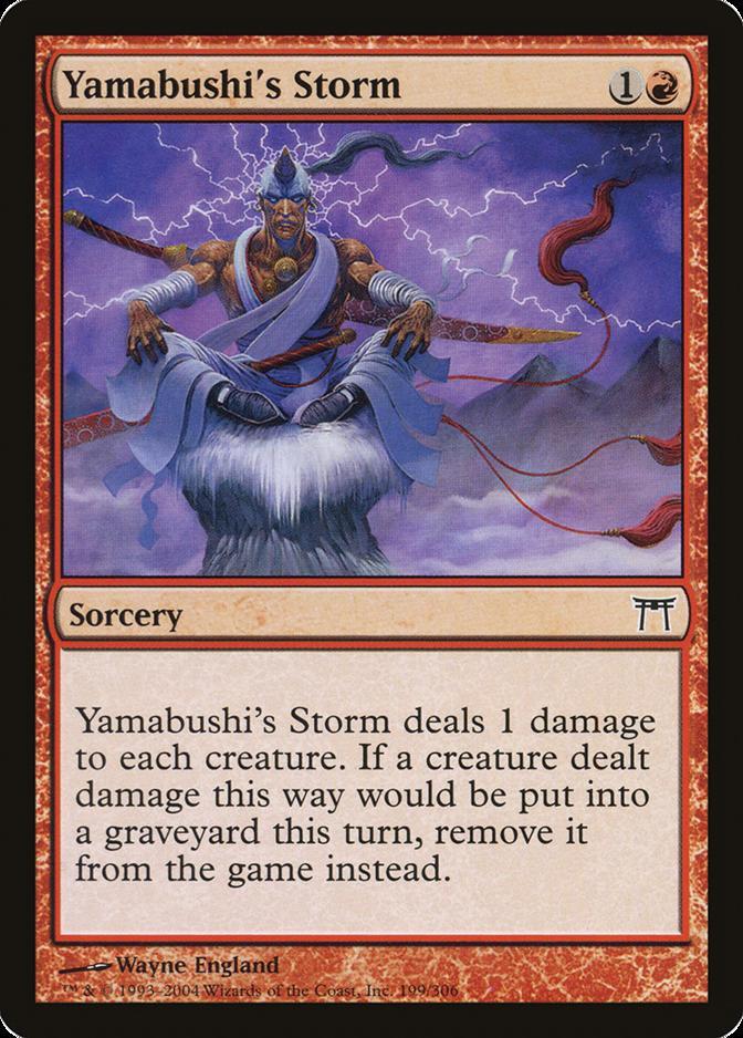 Yamabushi's Storm [CHK] (F)