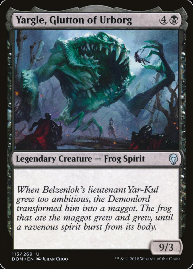 Yargle, Glutton of Urborg [DOM]