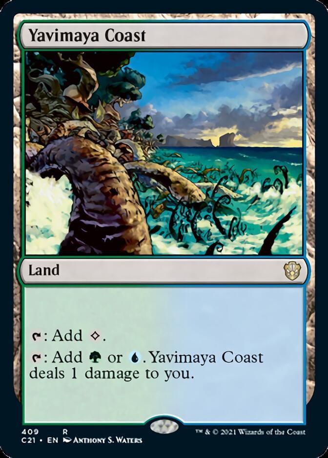 Yavimaya Coast [C21]