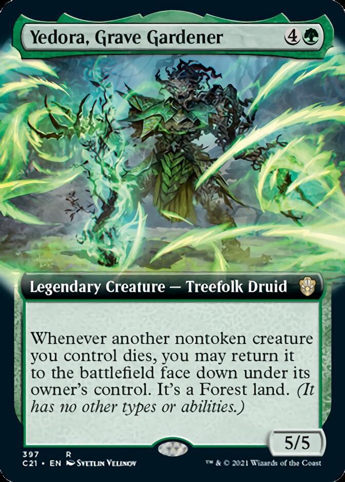 Yedora, Grave Gardener <extended> [C21]