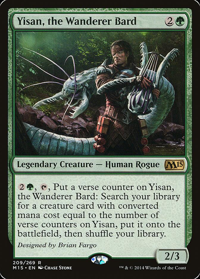 Yisan, the Wanderer Bard [M15]