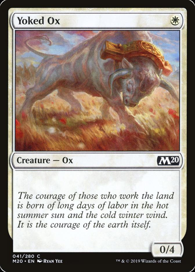 Yoked Ox [M20]