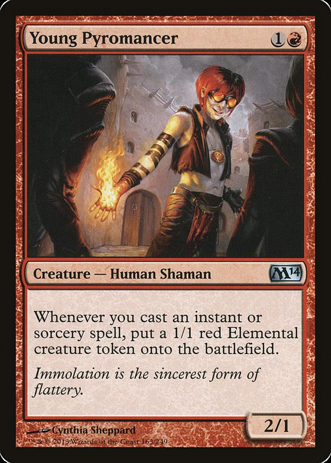 Young Pyromancer [M14]