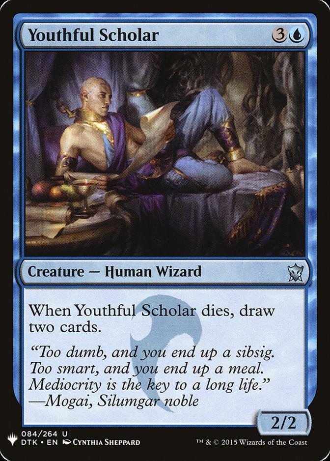 Youthful Scholar [MB1]