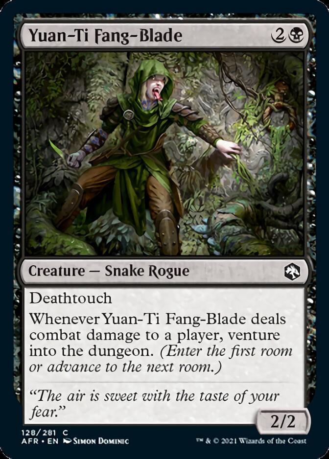 Yuan-Ti Fang-Blade [AFR]
