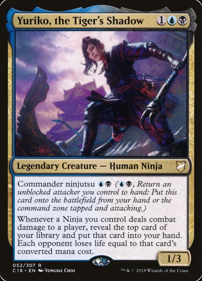 Yuriko, the Tiger's Shadow [C18]