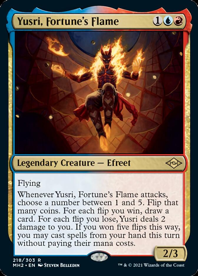 Yusri, Fortune's Flame [MH2]