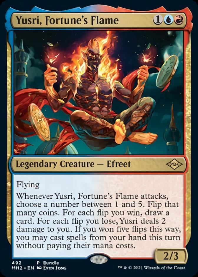 Yusri, Fortune's Flame <bundle> [MH2] (F)