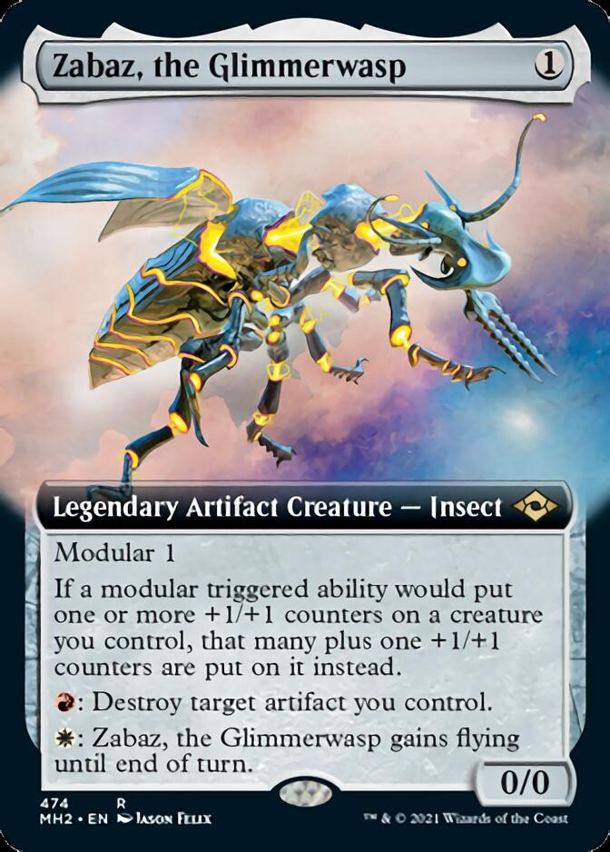 Zabaz, the Glimmerwasp <extended> [MH2]