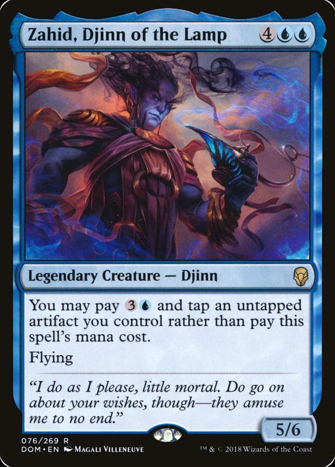 Zahid, Djinn of the Lamp [DOM]