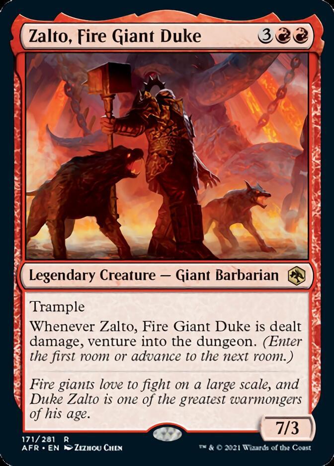 Zalto, Fire Giant Duke [AFR]