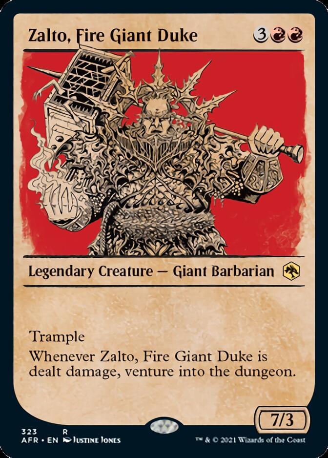 Zalto, Fire Giant Duke <showcase> [AFR]