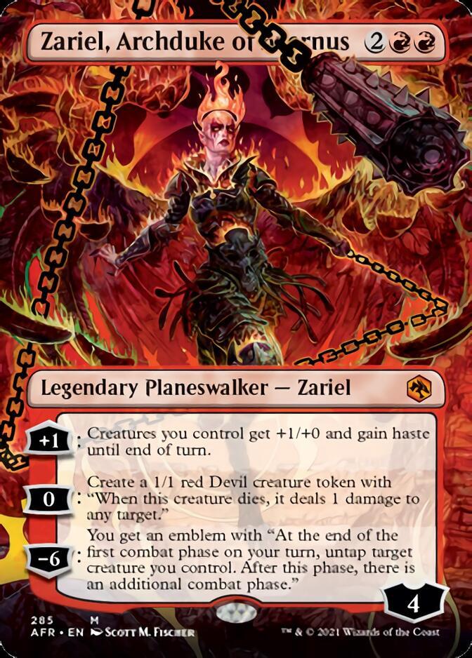 Zariel, Archduke of Avernus <borderless> [AFR]