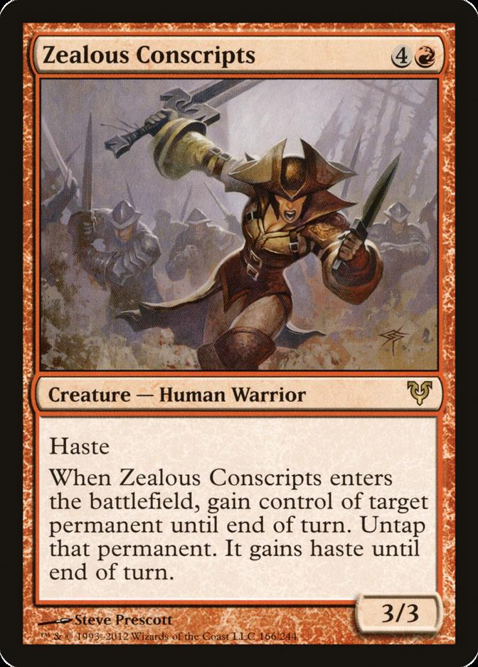 Zealous Conscripts [AVR]