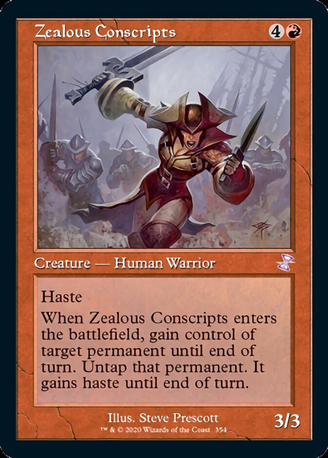 Zealous Conscripts <timeshifted> [TSR]