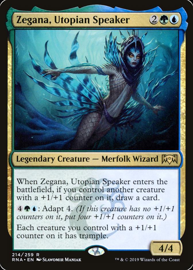 Zegana, Utopian Speaker [RNA]