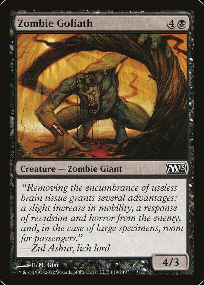 Zombie Goliath [M13]